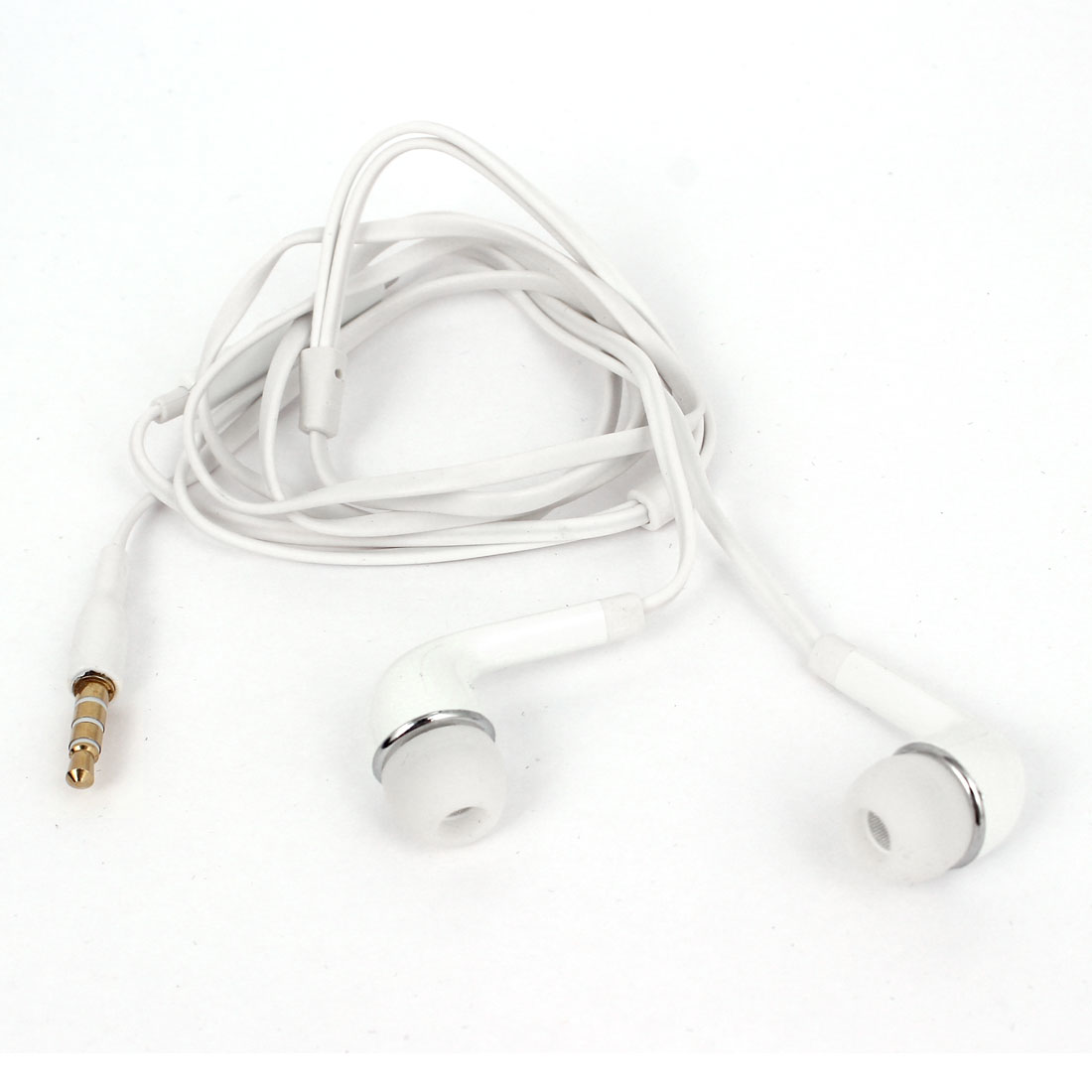 3.5mm Port In Ear Headset Earbuds Earphone White for Cellphone MP3 Mp4 DVD