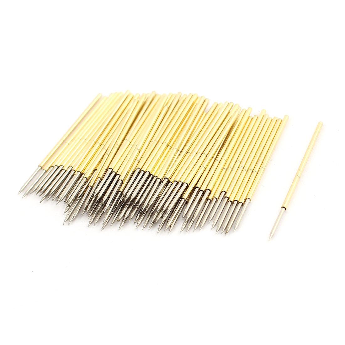 100 Pieces PL75-B1 Dia 1.02mm 120g Pressure Spring Test Probe Pin