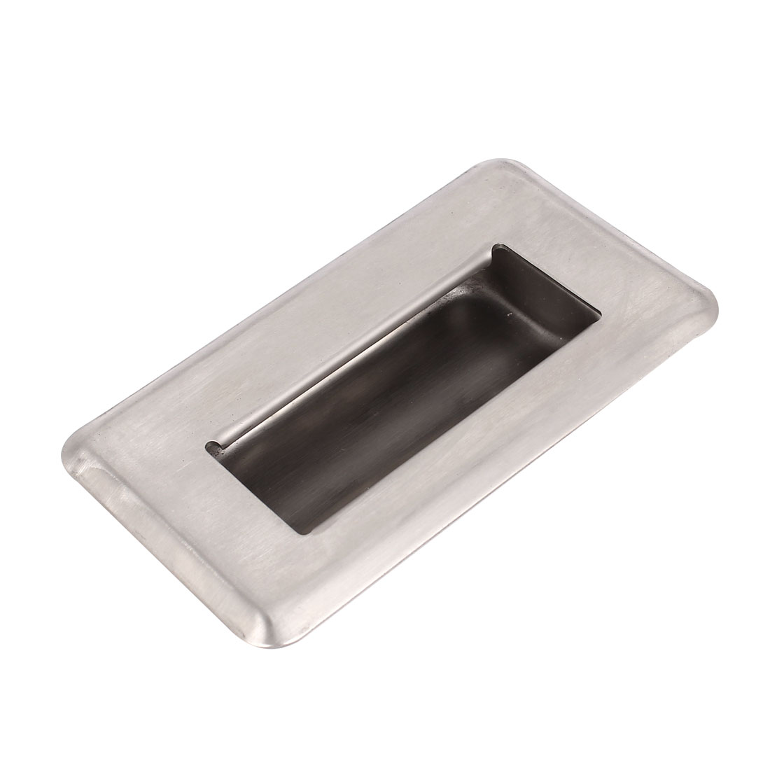 Door Drawer 109mm x 62mm Stainless Steel Recessed Flush Sliding Pull Handle
