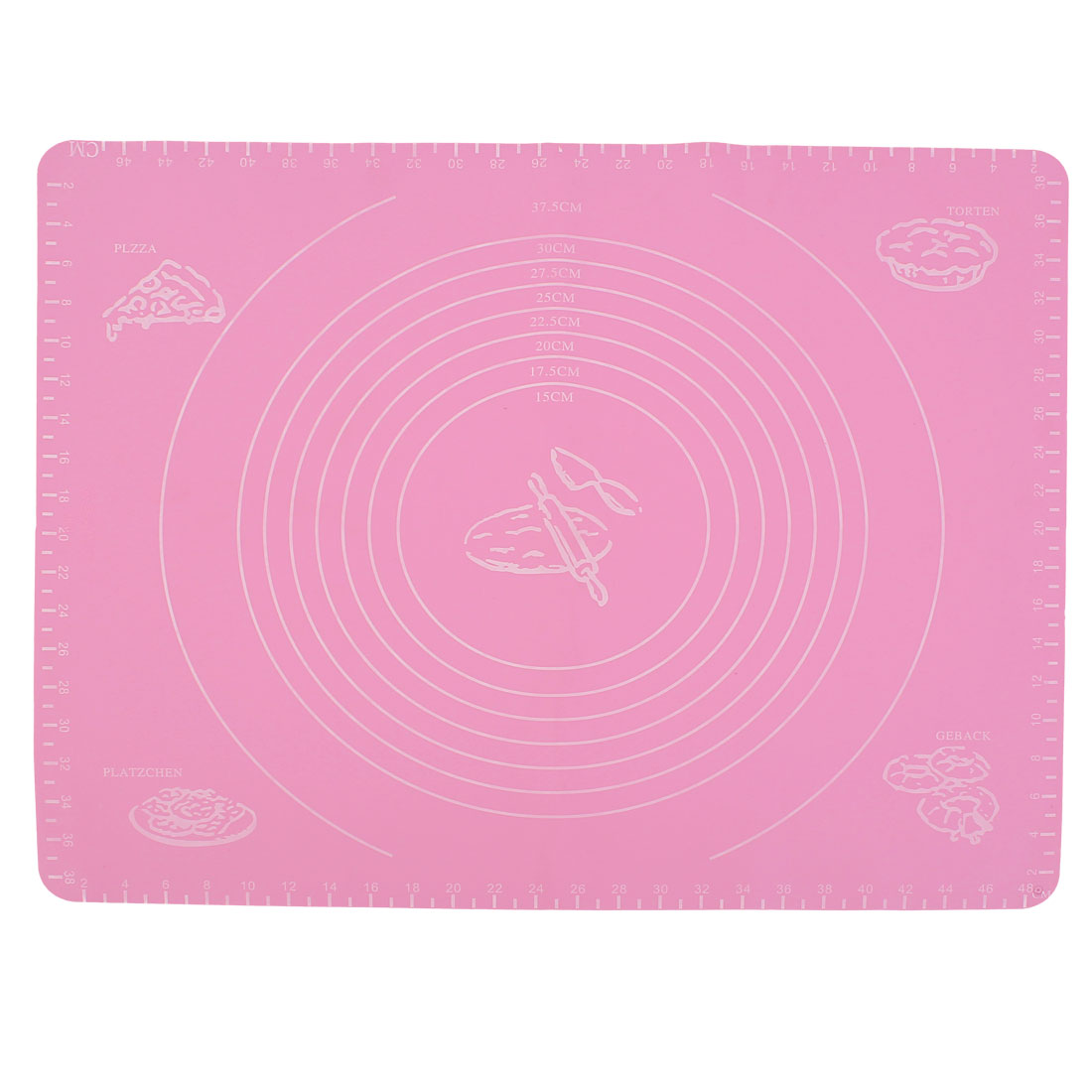 Graduated Pastry Cake Cookie Dough Nonstick Silicone Baking Mat Liner Sheet Pad
