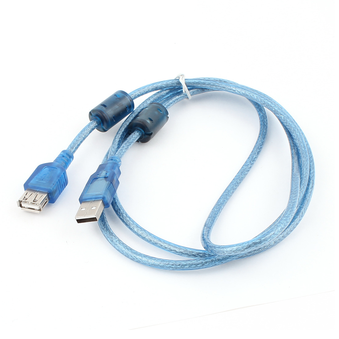USB 2.0 Type A Male to Female F/M Extension Shielded Cable 5Ft Blue