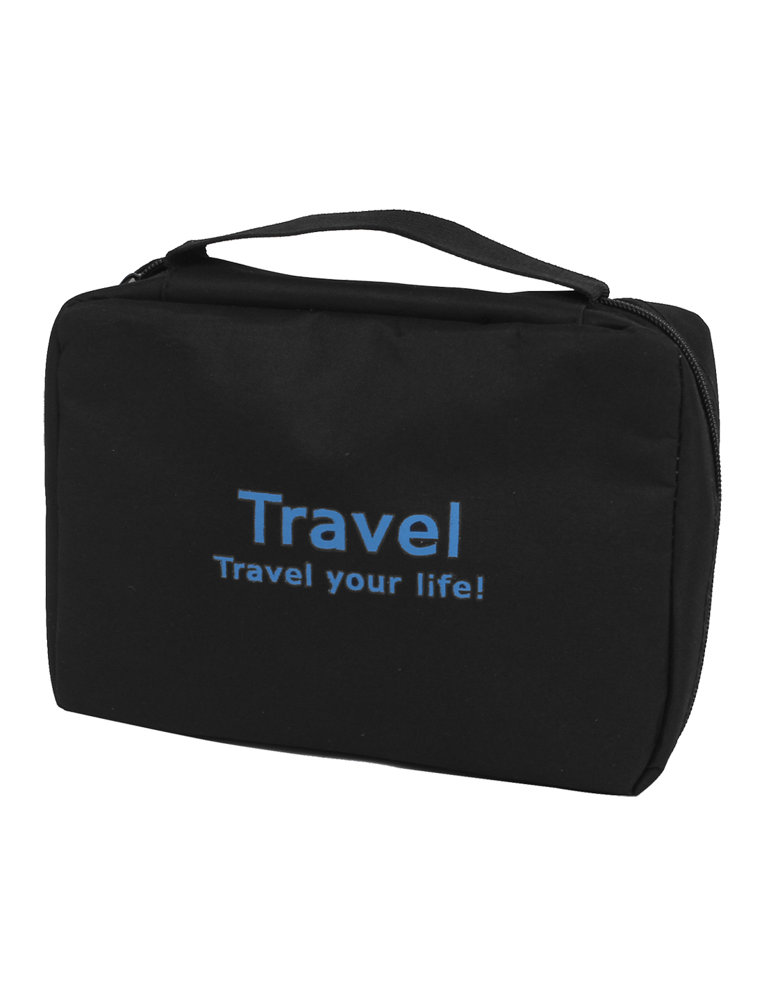 Business Trip Travel Toiletry Toiletries Cosmetic Beauty Hanging Wash Bag Black