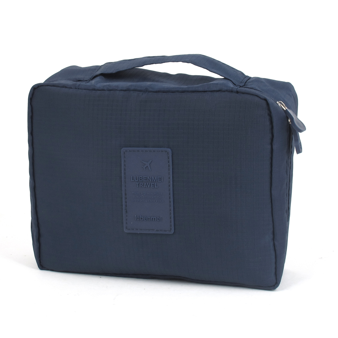 Travel Toiletry Toiletries Cosmetic Shaving Wash Bag Storage Case Dark Blue