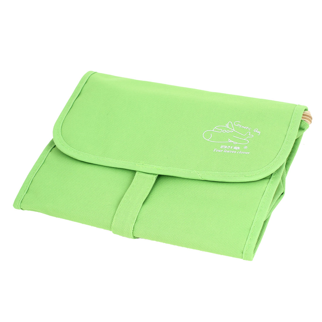 Sports Travel Toiletry Toiletries Cosmetic Makeup Foldable Wash Bag Green