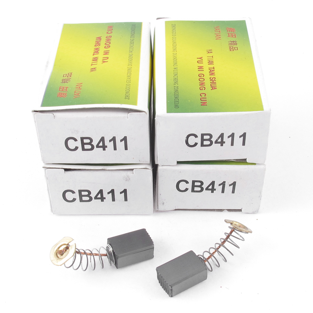 10 Pcs CB411 6MM x 9MM x 13MM Carbon Brush Replacement for Makita