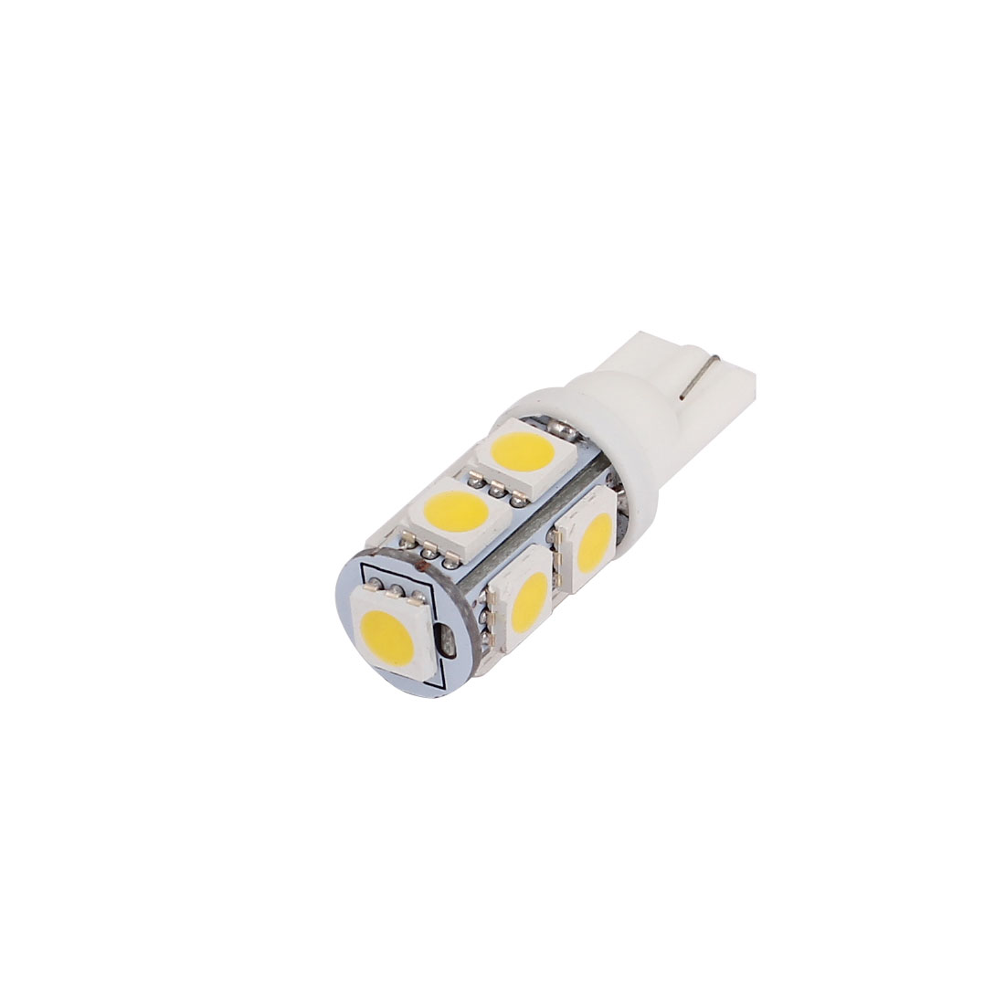 1.5W T10 White 5050 SMD 9 LED Car Light Lamp Bulb 194 168 2825 W5W