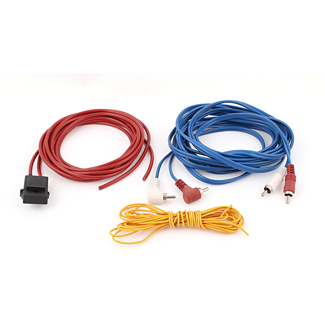 Auto Vehicle Car Audio System Speaker Amplifier RCA Wiring Cable Wire Kit