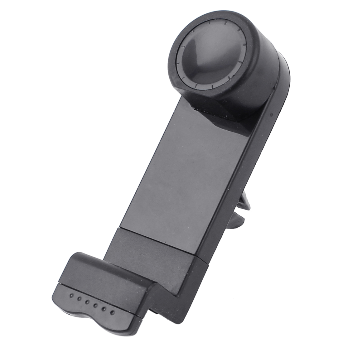 Car Air Vents Claps 360 Degreen Swivel Mobile Phone Adjustable Stand Holder Black