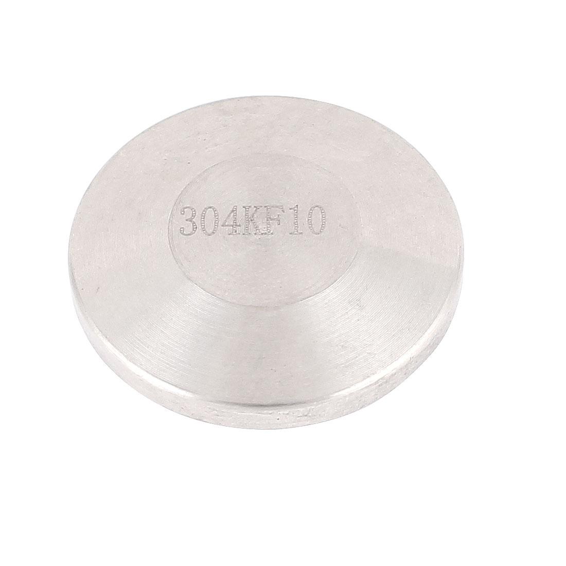 Stainless Steel 304 KF10 KF-10 Blank Flange Vacuum Fitting