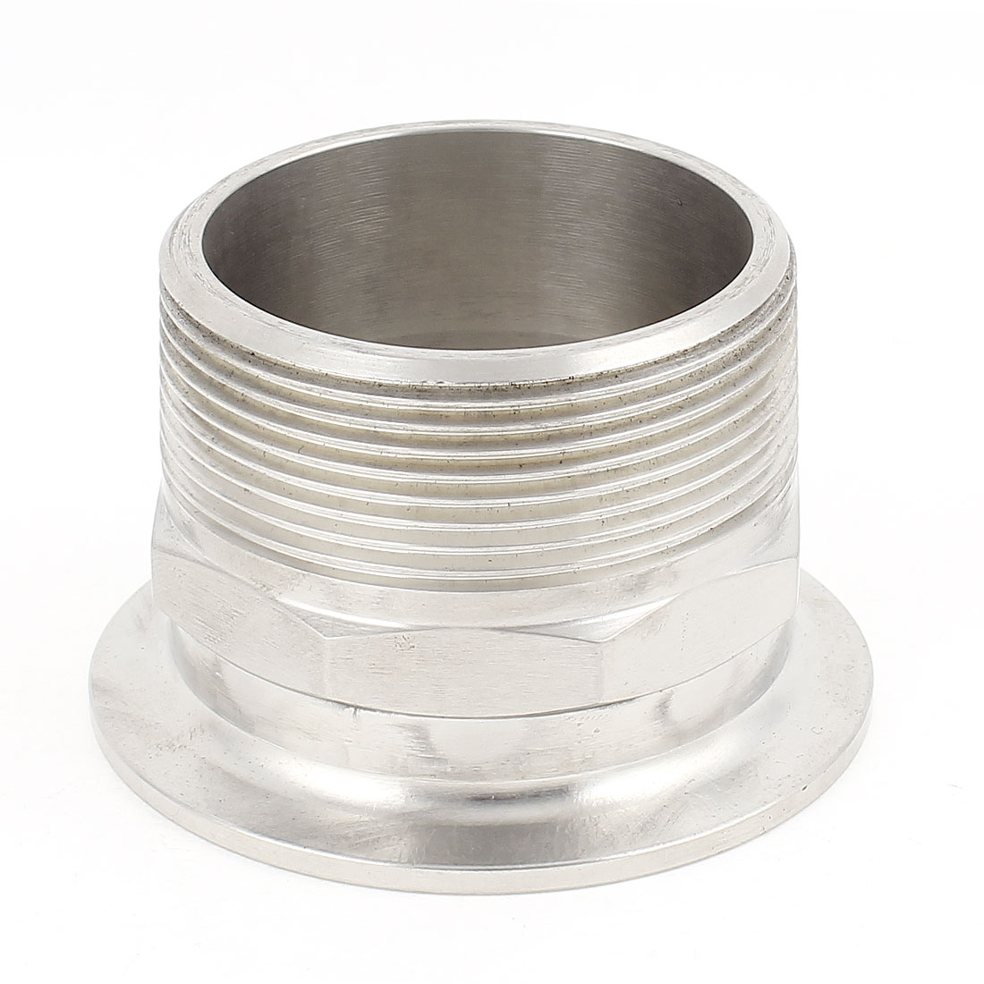 Stainless Steel 304 KF-50 Flange to 2BSP Male Thread Adapter Fitting