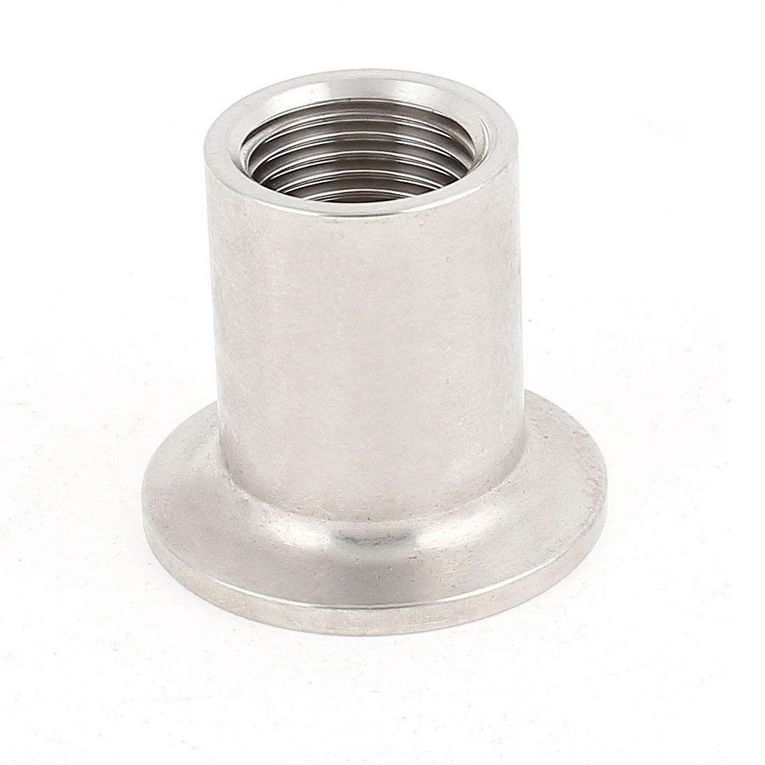 Stainless Steel 304 Vacuum KF25 Flange 1/2BSP Female Thread Adapter