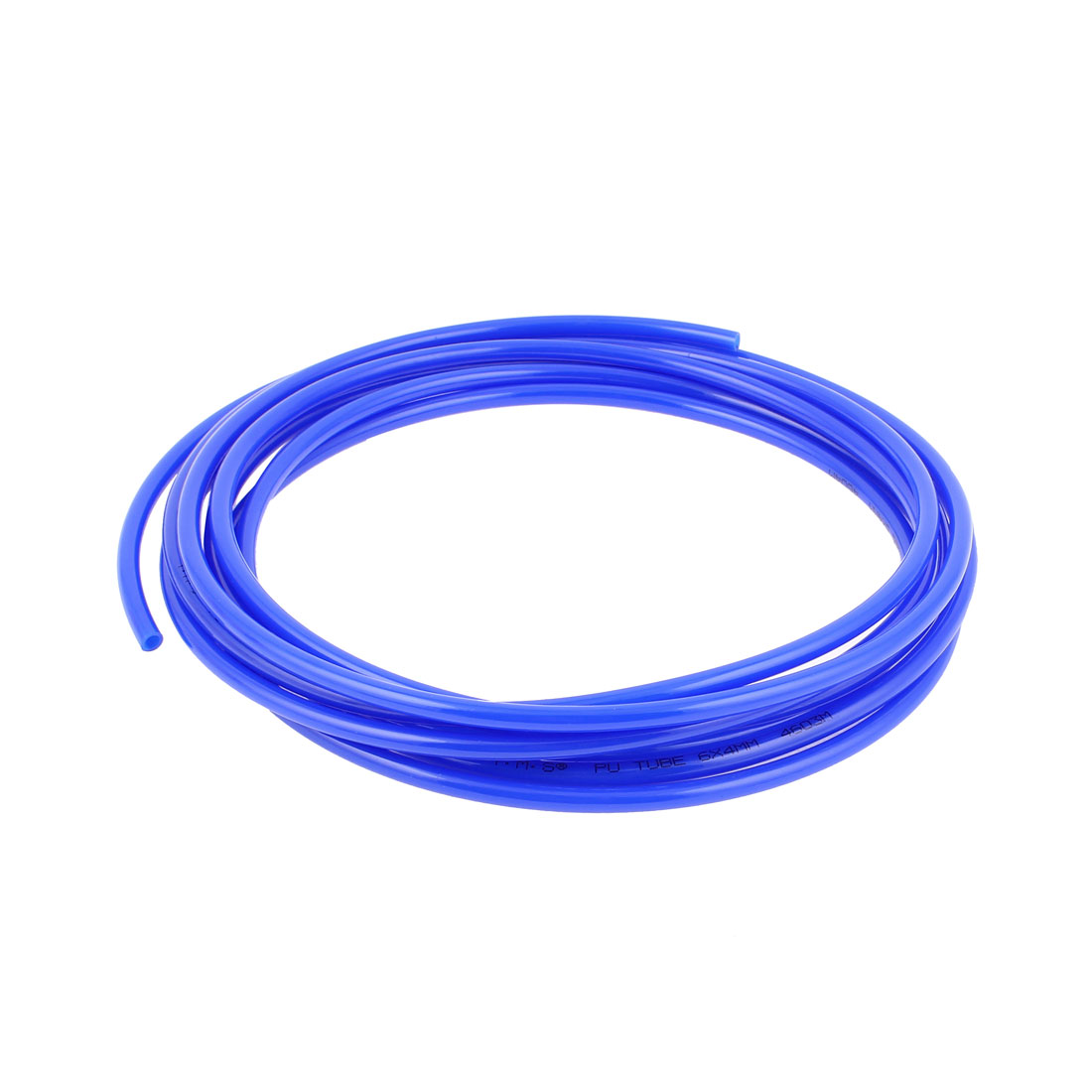 6mm x 4mm Pneumatic Air Compressor Tubing PU Hose Tube Pipe 4.5m Blue