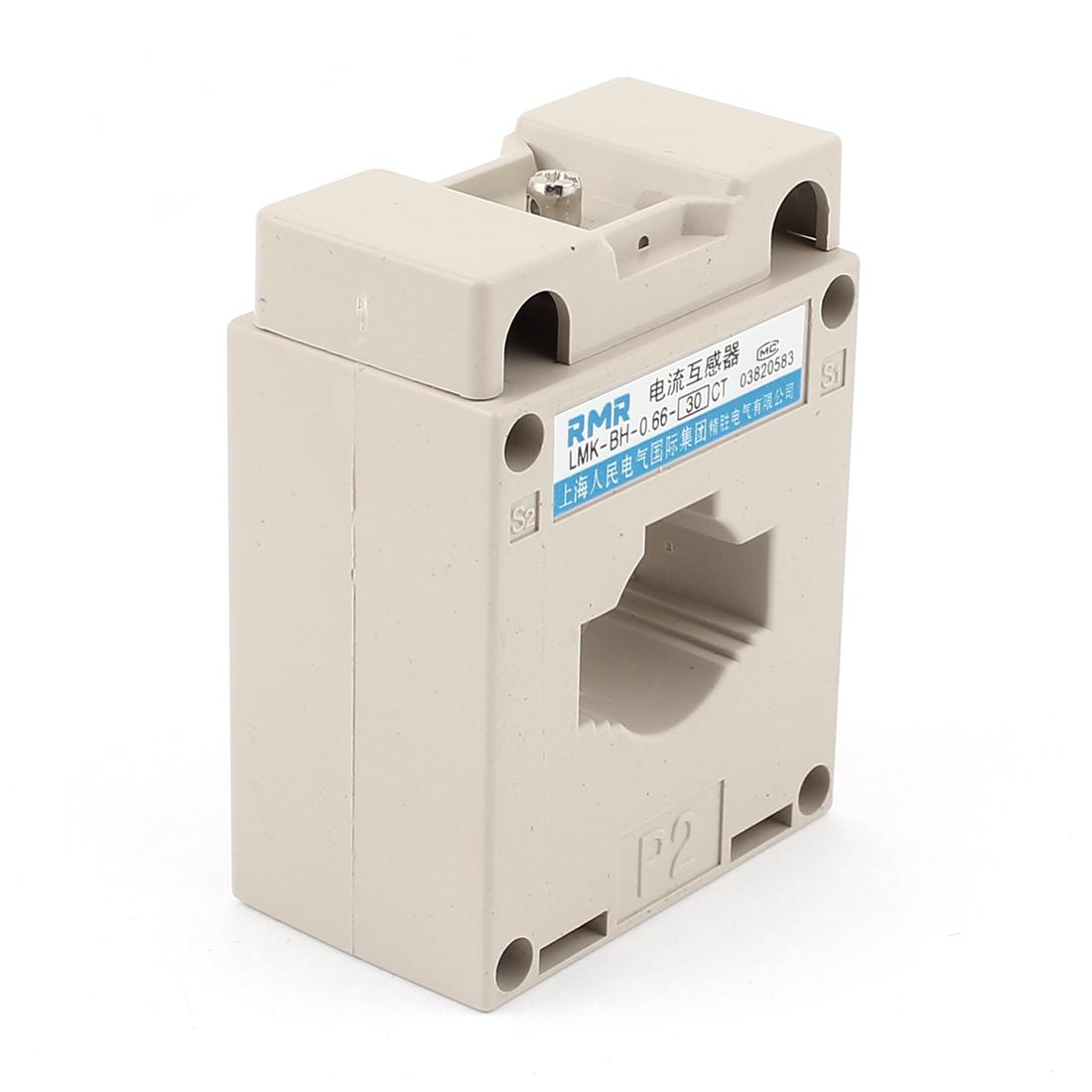 30A/5A 1T CT Current Transformer Sensor for AC Amperemeter Gauge