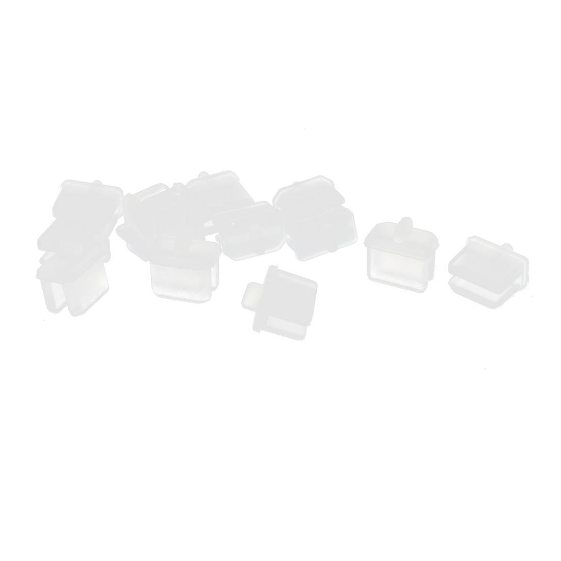 10 Pcs White Anti Dust Cover Cap Protector for Mini Displayport Thunderbolt