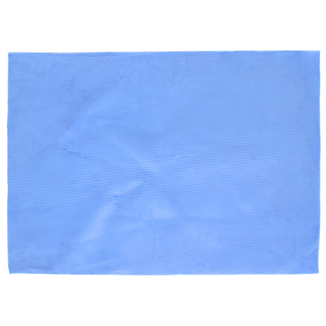 Synthetic Sports Bath Makeup Cleaning Cloth Absorbent Drying Magic Towel Blue