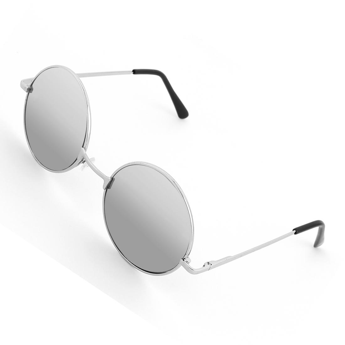 Vintage Retro Style Black Steampunk Sunglasses Round Glasses Goggles