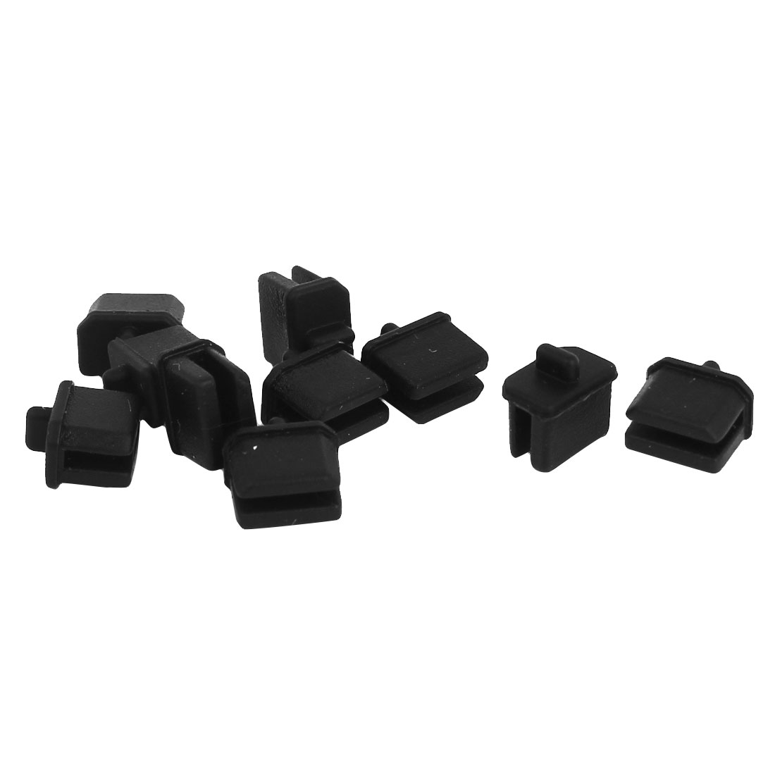 10 Pcs Black Anti Dust Cover Cap Protector for Mini Displayport Thunderbolt