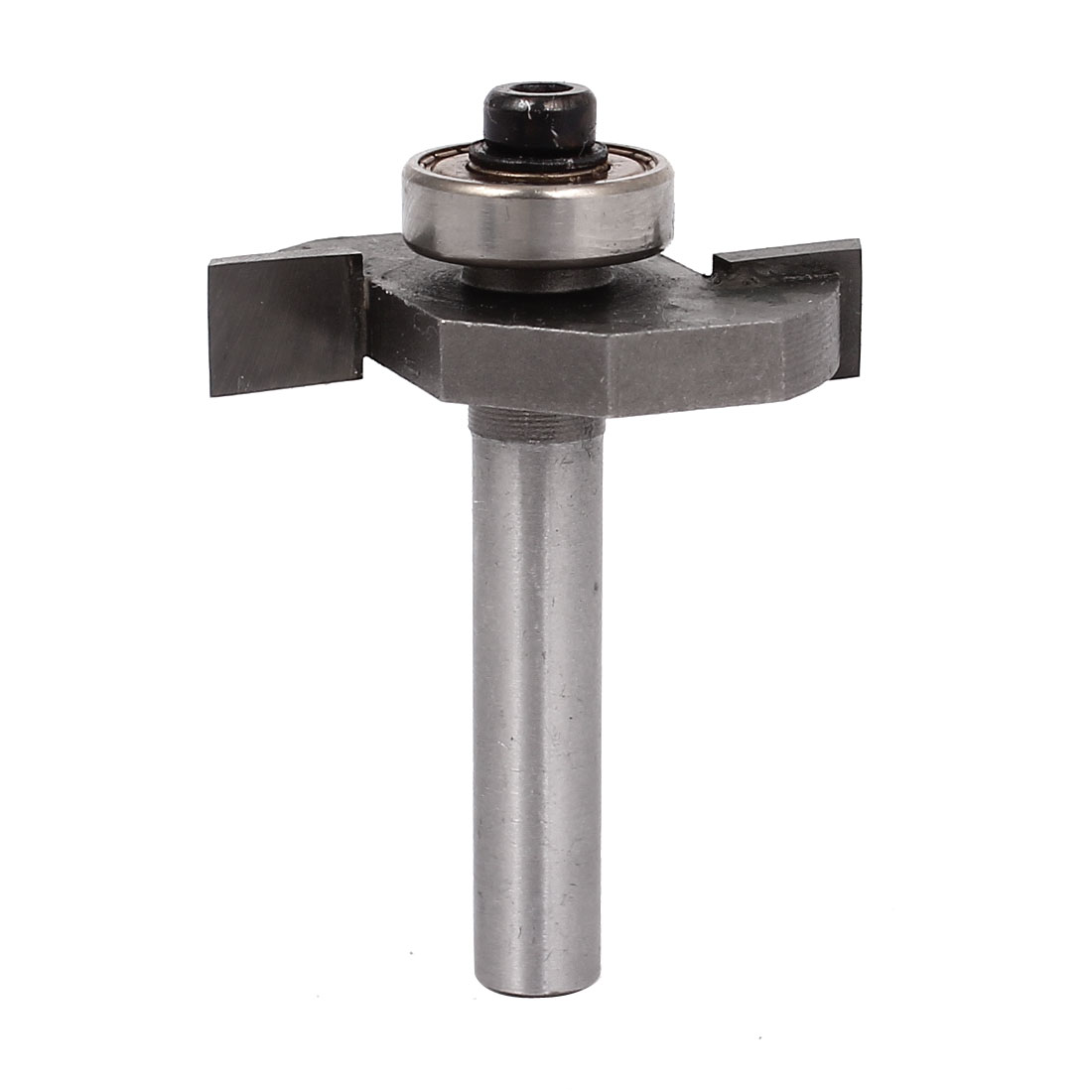 "1/4"" x 1/4"" Straight Shank Slot Undercut Router Bit Cutter w Bearing"