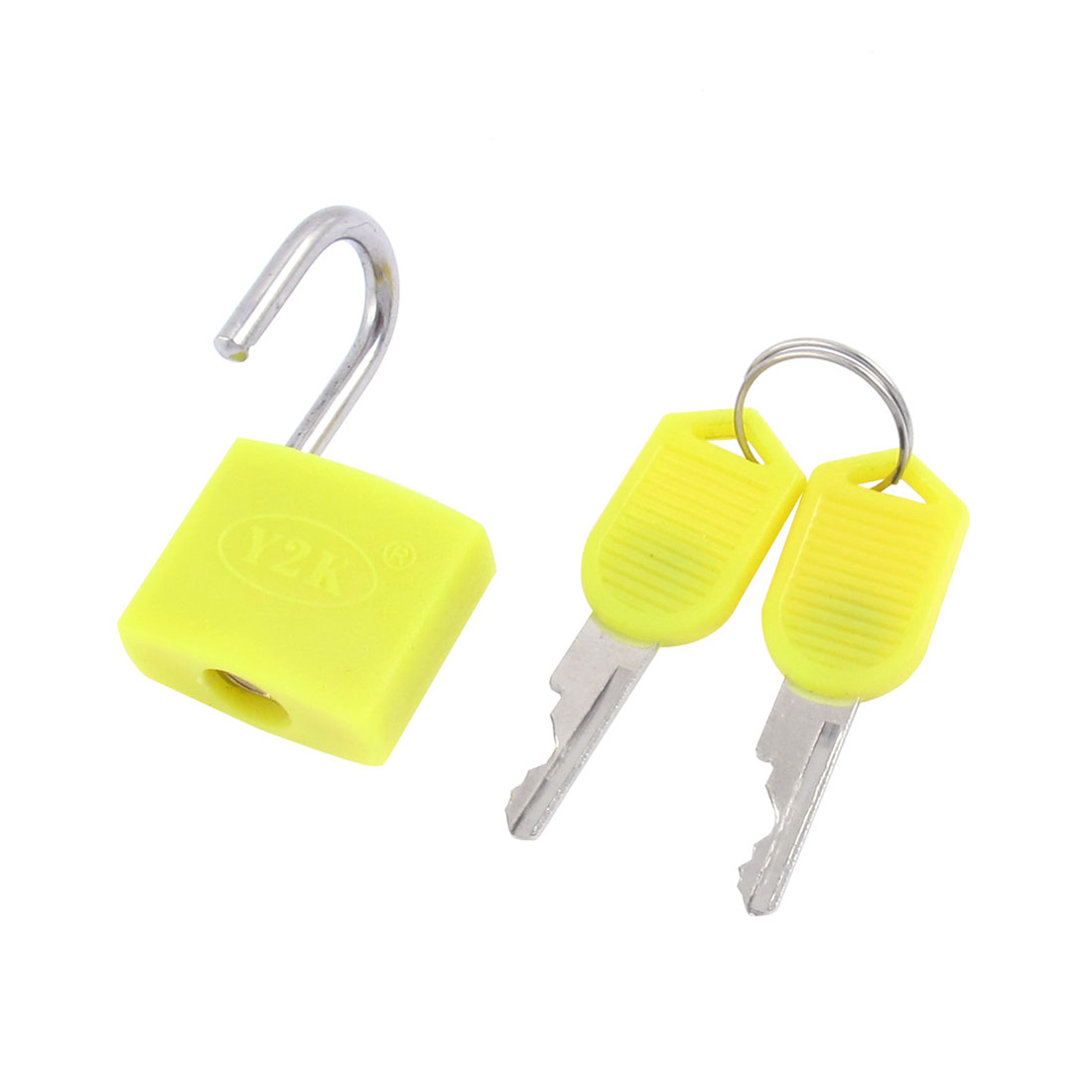 Cabinet Jewlery Box Drawer Suitcase Security Lock Padlock Yellow 23mm Width