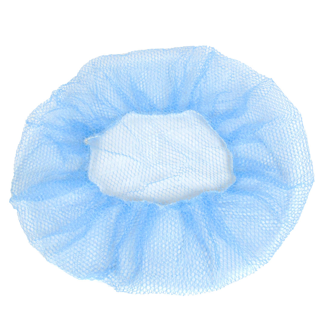 Nylon Mesh Safety Security Stretchy Electric Fan Protection Cover Blue