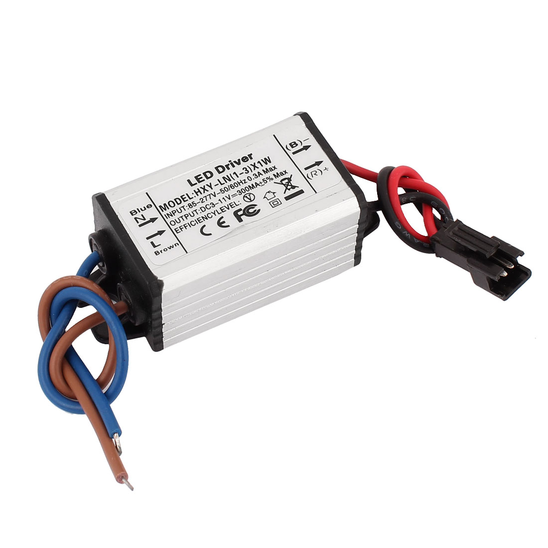 AC 85-277V to DC 3-11V Waterproof Power Supply Driver for LED Strip Light