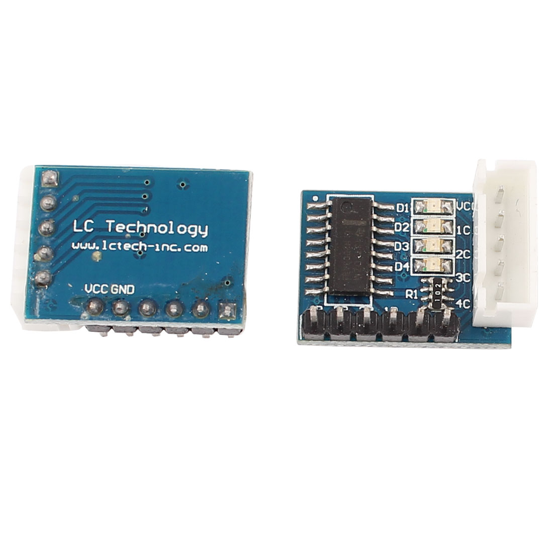 2pcs 4-Phase 5-Wire Step Stepper Motor Driver ULN2003 Circuit Module Board