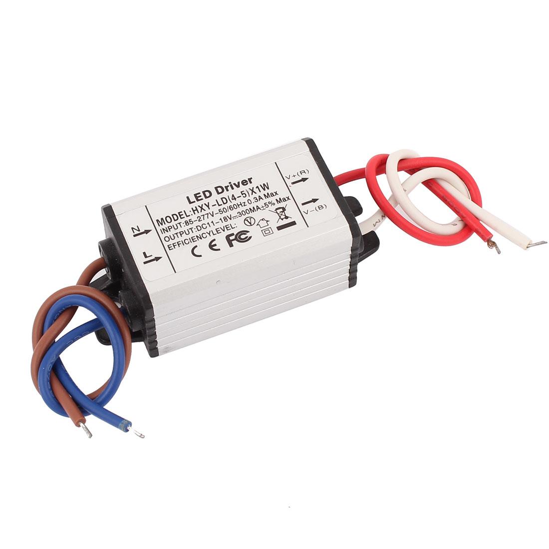 AC 85-277V to DC 11-18V Waterproof Power Supply Driver for LED Strip Light