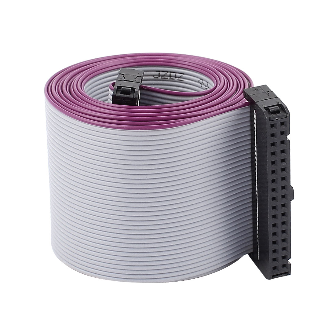 2.54mm Pitch 34 Pin F/F Connector IDC Flat Ribbon Cable 148cm Length