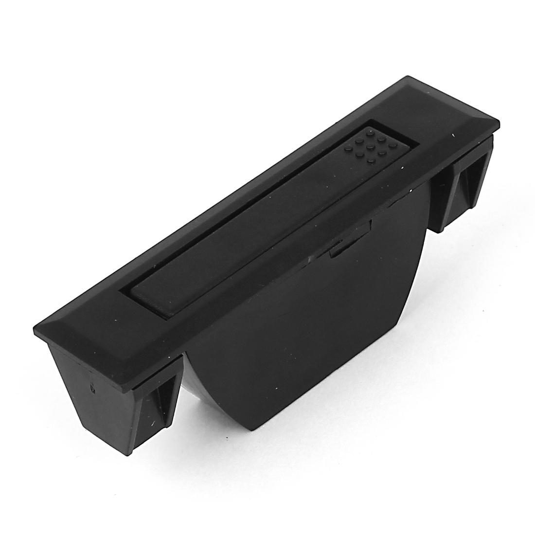 Rectangle Shape Black Plastic Push Pull Handle for Door Window