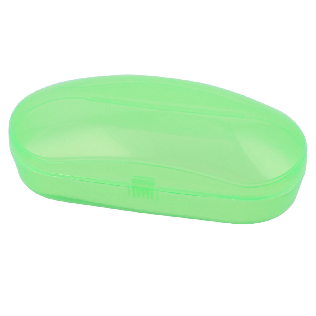 Portable Clear Green Plastic Sunglasses Eyeglasses Glasses Case Box Container Holder