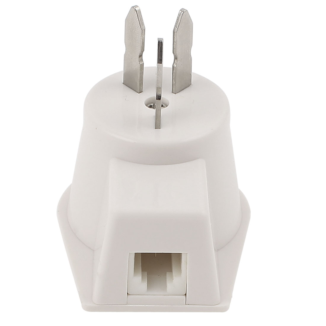 USA Modem Plug RJ11 6P2C to Finnish Phone Jack Outlet Adapter