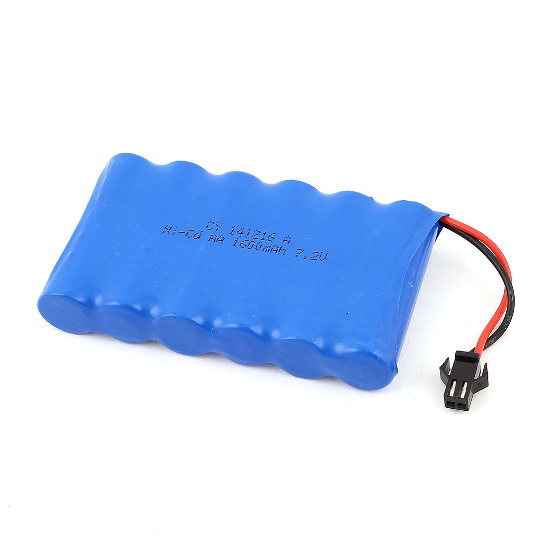 RC Cars 1600mAh 7.2V M Type 2 Pin SM Ni-Cd AA Rechargeable Battery Blue