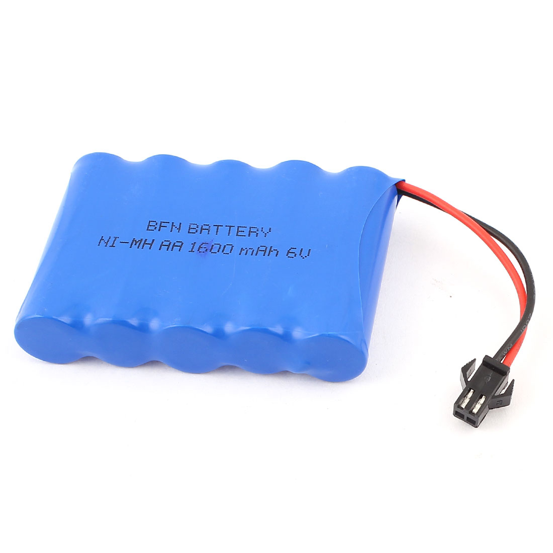 RC Cars 1600mAh 6V 2 Pin SM Ni-MH AA Rechargeable Battery Blue