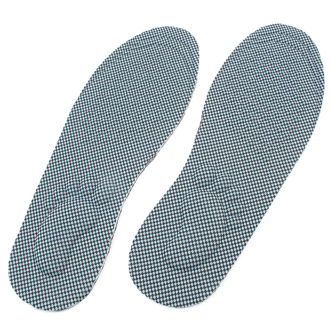 Arch Flat Adjustable Man Insoles Feet Care Pads Pair Blue US 10.5