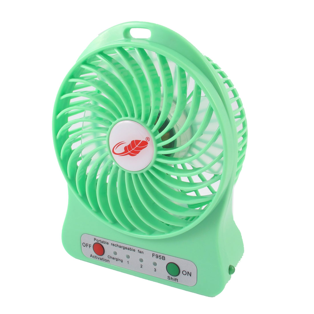 DC5V 4.5W Home Office Desk Portable Multifunction Mini Cooling Fan Green