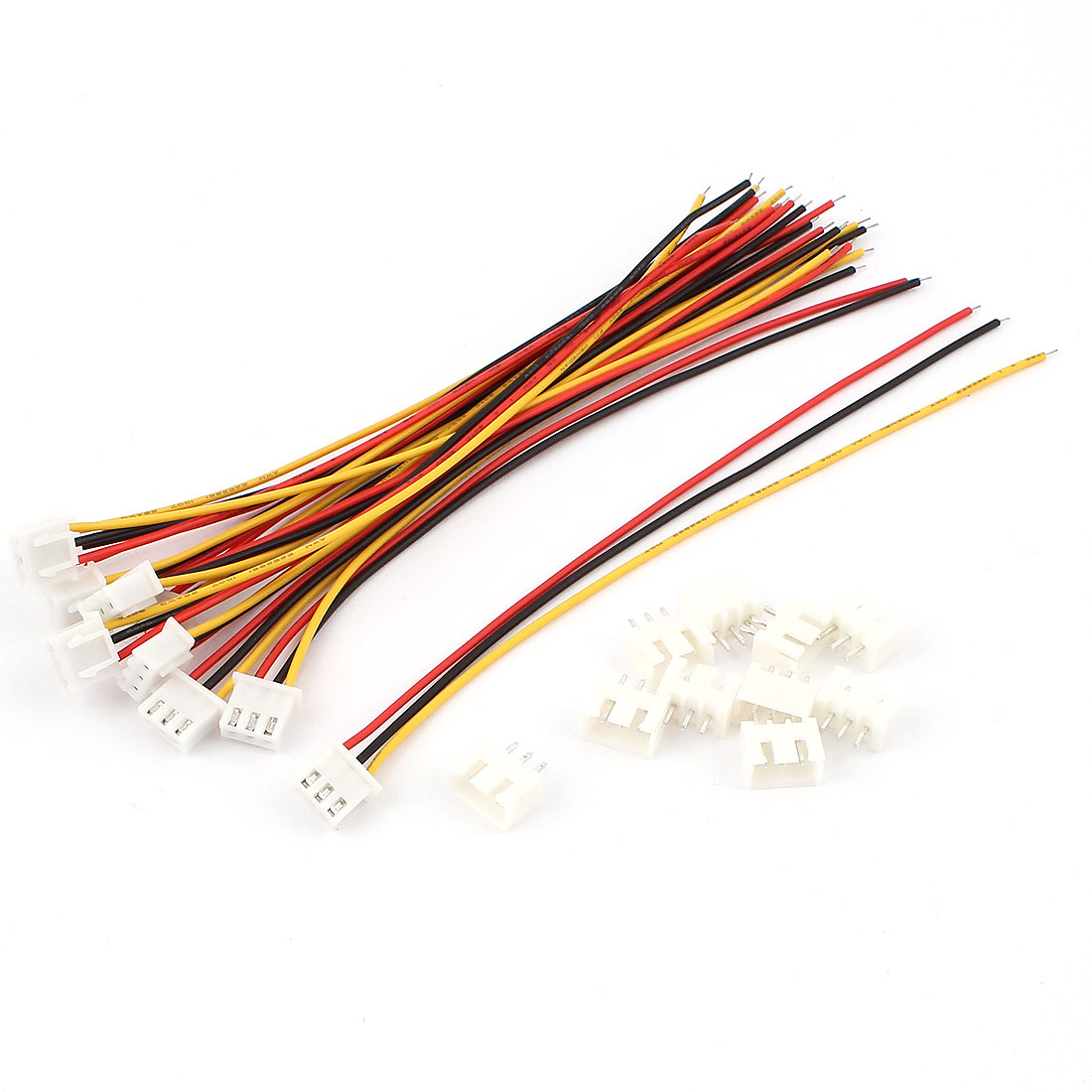 JST XH2.5 3Pole Balance Connector Extension Wire Set for 2S 7.4V Lipo Battery
