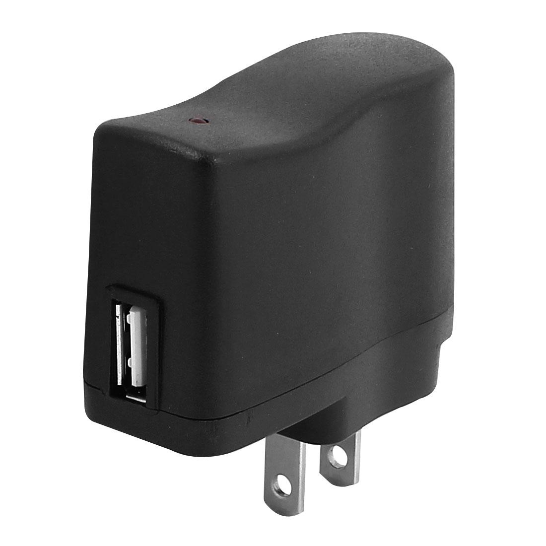 US Plug AC 100V-240V to DC 5V USB2.0 Power Supply Adapter Converter Charger