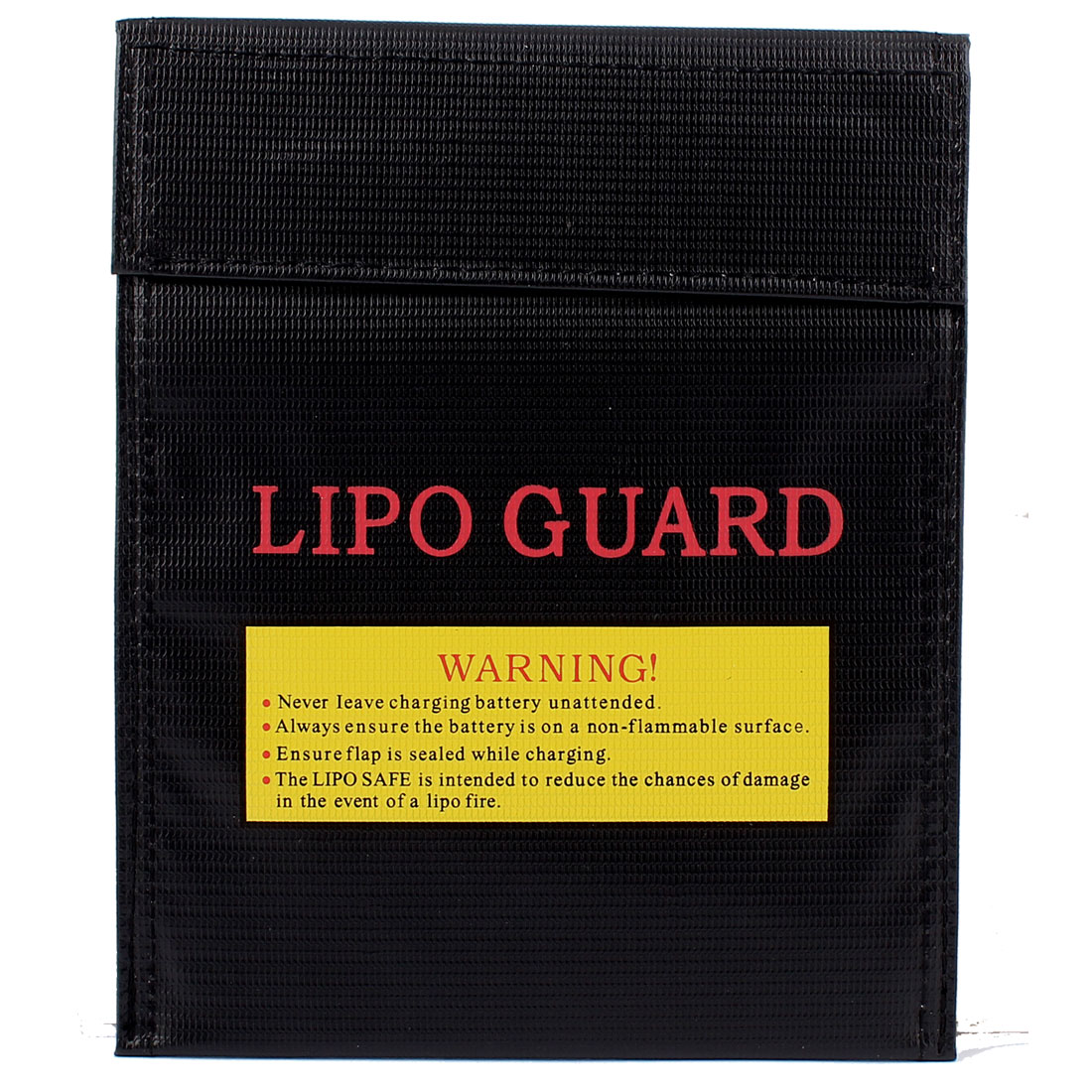 30cm x 23cm RC LiPo Battery Safety Guard Charge Bag Protector Black