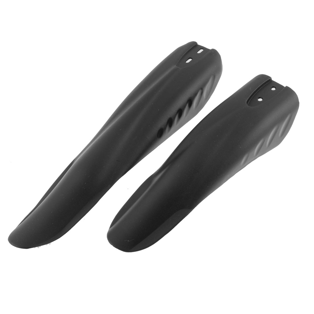 Mountain Bike Cycling Plastic Front Rear Mud Guard Fenders Black