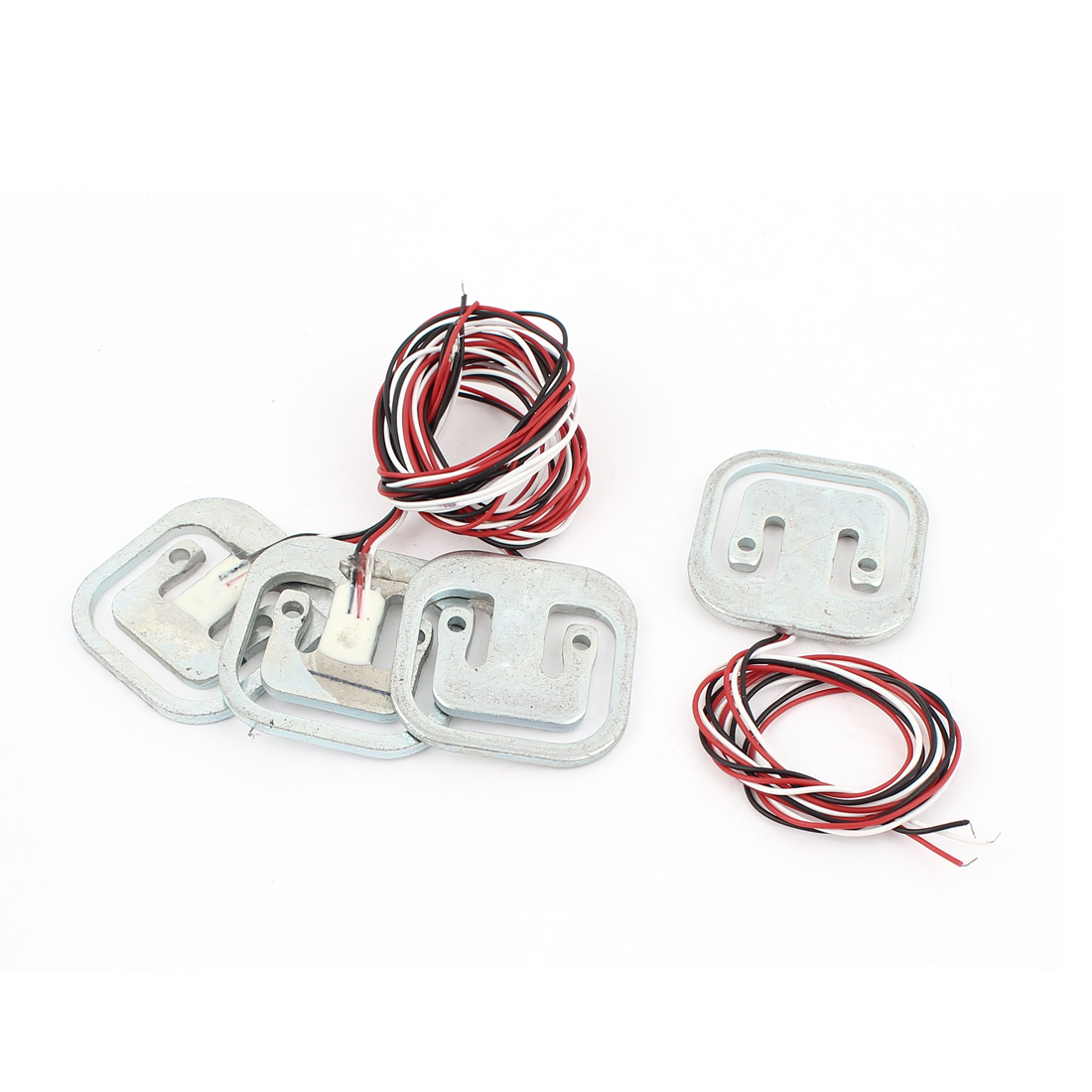 4pcs Half-bridge Resistance Strain Body Load Cell Scale Weighing Sensor 50kg