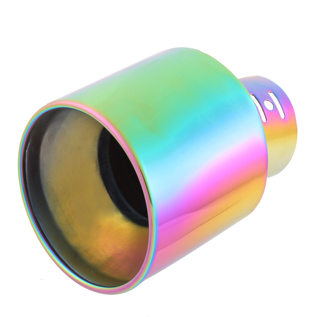 64mm Inlet Dia Colorful Stainless Steel Exhaust Tip Pipe Muffler for Auto Car