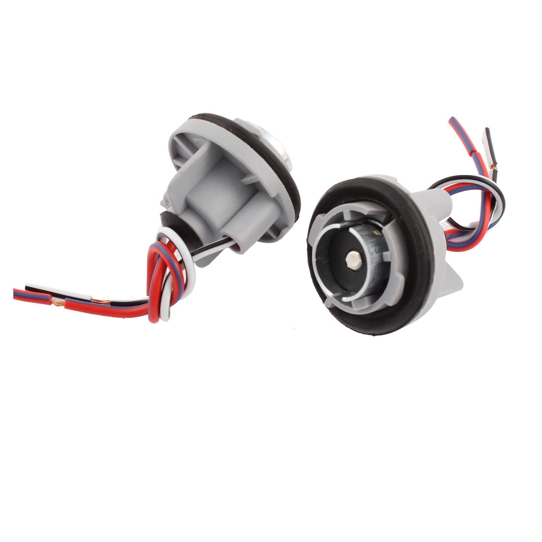 2 Pcs 1156 Brake Turn Signal Light Socket Connector Wire Harness for Car Auto