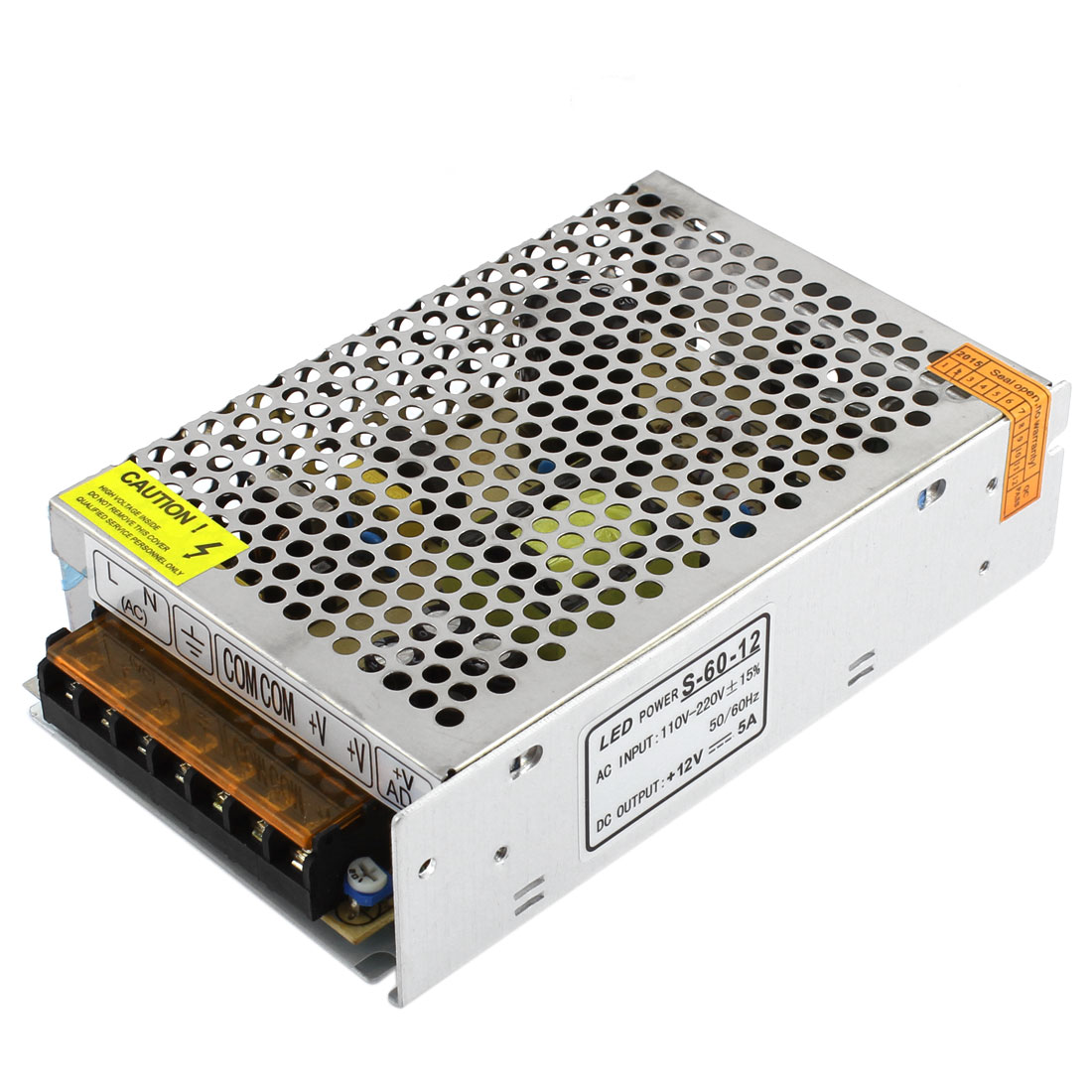 AC 110-220V DC 12V 5A Switching Power Supply Driver for LED Light