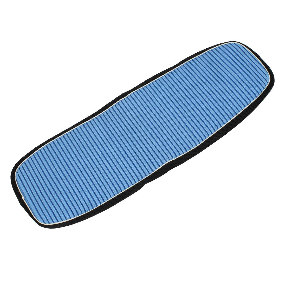 Blue Mesh Motorcycle Seat Cover Breathable Elastic Adiabatic Saddle Pad