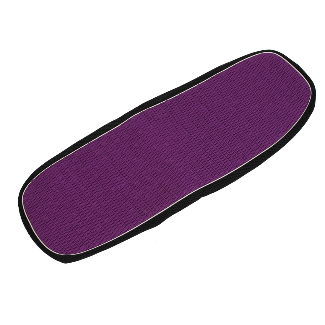 Motorcycle Seat Cover Mesh Breathable Elastic Adiabatic Saddle Pad Purple