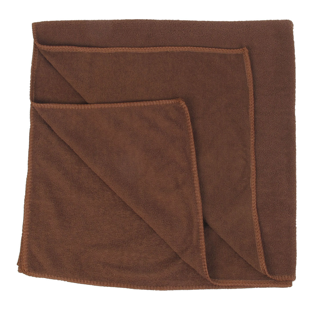 140cm x 70cm Coffee Color Soft Terry Rectangle Bath Shower Towel for Gym Home Hotel Swim