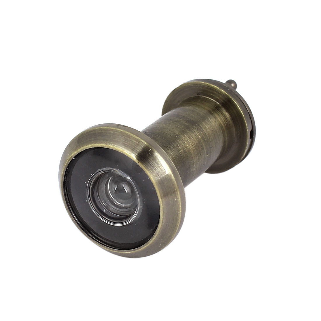 16mm Dia 200 Degree Wide Angle 35mm-52mm Thickness Door Viewer Peephole Bronze Tone
