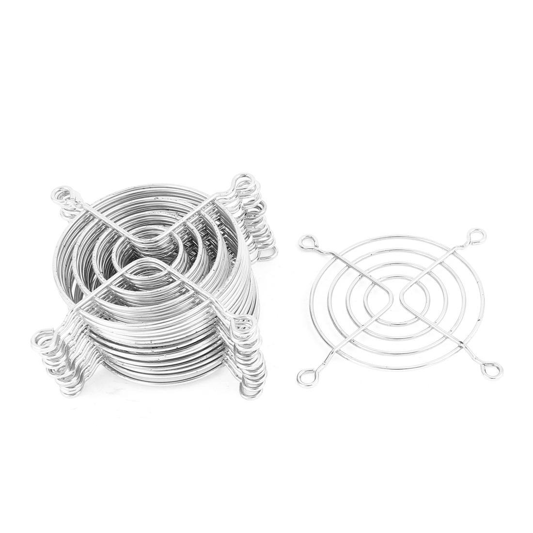15 Pcs Metal Wire Finger Guard Protect Grill for 70mm Computer PC Cooling Fan