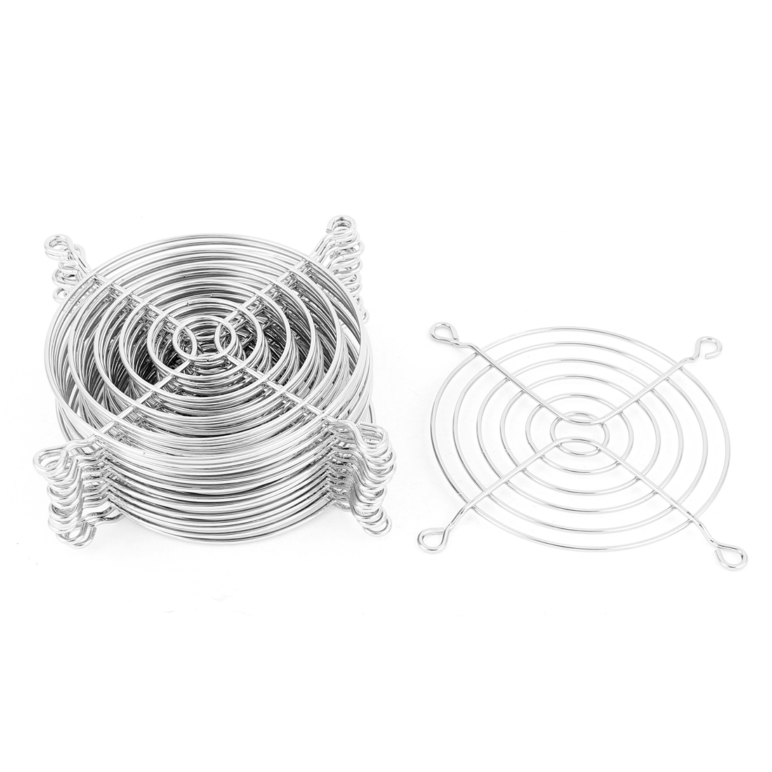 15 Pcs Metal Wire Finger Guard Protect Grill for 90mm Computer PC Cooling Fan