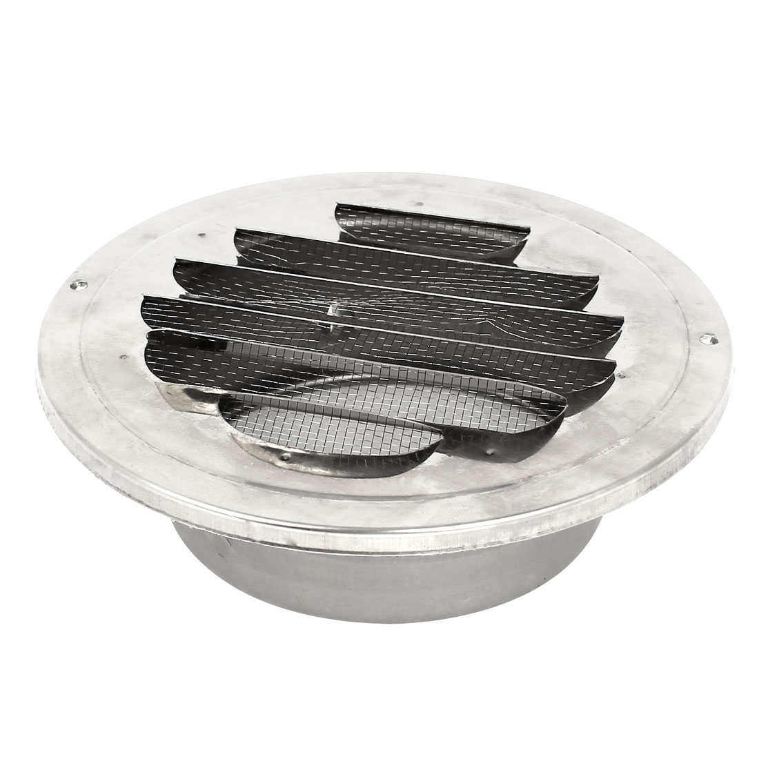 Circle Stainless Steel Air Vent Ducting Ventilation Grille Cover 100mm 4""